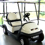 4 Passenger Villager Club Car White